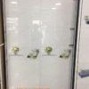 gạch mikado 30x60 meco3610 gạch bóng kính chất liệu bán sứ trắng khói